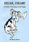 Cover of book about training a deaf puppy